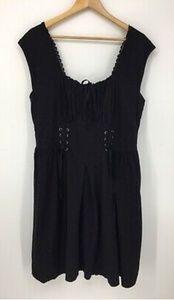 EUC Torrid Goth Corset Dress